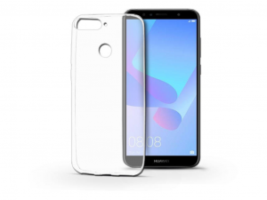 Huawei Y6 (2018)/Y6 Prime (2018)/Honor 7A szilikon hátlap - Ultra Slim 0,3 mm - transparent