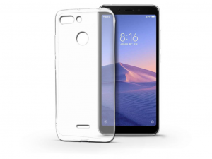 Xiaomi Redmi 6 szilikon hátlap - Ultra Slim 0,3 mm - transparent