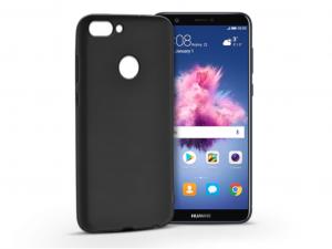 Huawei P Smart szilikon hátlap - Carbon - fekete