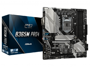 Asrock B365M Pro4 alaplap - s1151, Intel® B365, mATX