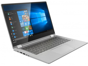 Lenovo Yoga 530-14IKB 81EK00PSHV 14HD Touch, Intel® Core™ i3 Processzor-7130U, 4GB, 128GB SSD, Win10H, szürke notebook