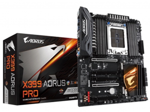 GIGABYTE X399 AORUS PRO alaplap - sTR4, AMD X399, ATX