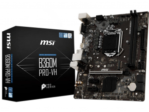 MSI B360M PRO-VH alaplap - s1151, Intel® B360M, mATX
