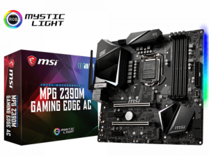 MSI MPG Z390M GAMING EDGE AC alaplap - s1151, Intel® Z390M, mATX