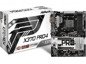 ASRock X370 PRO4 alaplap - sAM4, AMD X370, ATX