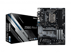 ASRock Z390 PRO4 alaplap - s1151, Intel® Z390, ATX