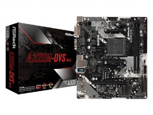ASRock A320M-DVS R4.0 alaplap - sAM4, AMD A320, mATX