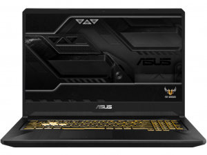 Asus TUF Gaming FX505GE-AL343 15.6 FHD, Intel® Core™ i7 Processzor-8750H, 8GB, 256GB SSD, NVIDIA GeForce GTX 1050Ti - 4GB, Dos, gold steel notebook