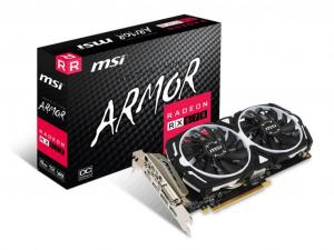 MSI RX 570 ARMOR 8GB GDDR5 videokártya