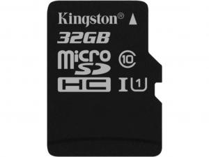 Kingston 32GB micro SDHC CL10 memóriakártya