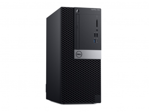 DELL PC OPTIPLEX 7060 MT -Core™ I7-8700, 8GB DDR4, 1TB 3.5 Col HDD, 1TB 2.5 Col HDD, UHD 630, Windows 10 Pro