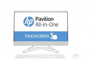 HP AIO 24-F0002NN, 23.8 FHD AG TOUCH, Core™ I5-8250U, 8GB, 256 GB SSD+1TB HDD, NVIDIA GT MX110 2GB, DOS, FEHÉR, EGÉR/BIL