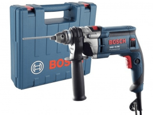 Bosch GBS 16 RE Ütvefúró 13mm-es fogaskoszorús tokmánnyal kofferben