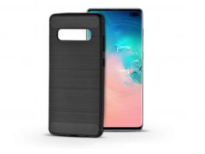 Samsung G975U Galaxy S10+ szilikon hátlap - Soft - fekete