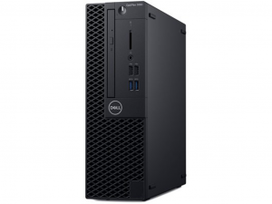 Dell OptiPlex 3060 SFF, Intel® Core™ i3 Processzor 8100 (3.60GHz), 4GB, 128GB SSD, Intel® UHD 630, DVD RW, Win10 Pro
