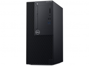DELL OptiPlex 3060 MT, Intel® Core™ i5 Processzor 8500 (4.1GHz), Intel® HD, 1x8GB DDR4, 1TB 7.2k, Linux, DVD+/-RW