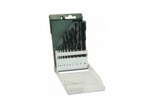 Bosch 10 részes fémfúrókészlet, HSS-R