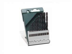 Bosch 13 részes fémfúrókészlet, HSS-R