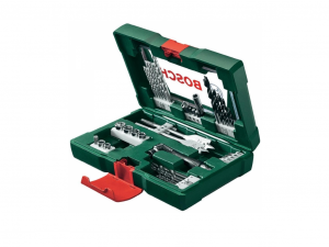 Bosch 41 részes V-Line TiN fúró- és bitkészlet sarokcsavarozóval