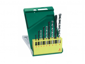 Bosch 9 részes fém- és kőzetfúrókészlet