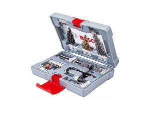 Bosch 49 részes Premium X-Line fúró készlet és csavarozó bit készlet