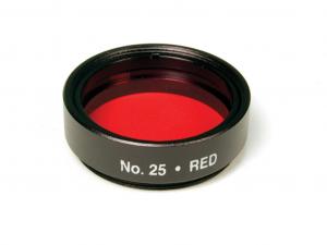 Levenhuk 1,25 optikai szűrő #25 (piros)
