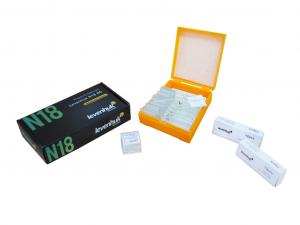 Előkészített Levenhuk N18 NG tárgylemezkészlet