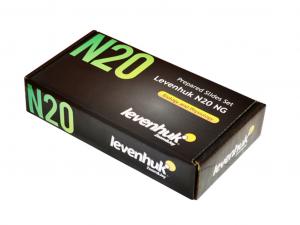 Előkészített Levenhuk N20 NG tárgylemezkészlet