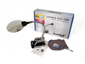 Levenhuk Zeno 1000 LED-lámpás nagyító, 2,5/5x, 88/21 mm