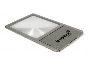 Levenhuk Zeno 90 Fresnel-lencse, 2,5x, 48/45 mm, fém