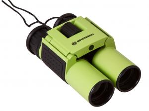 Bresser Topas 10x25 kétszemes távcső, zöld