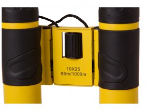Bresser Topas 10x25 kétszemes távcső, sárga
