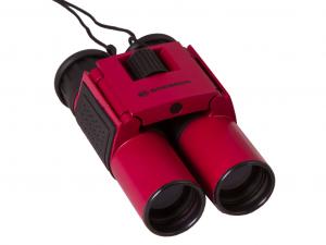 Bresser Topas 10x25 kétszemes távcső, piros