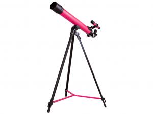 Bresser Junior Space Explorer 45/600 AZ teleszkóp, rózsaszín