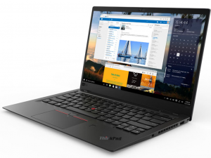 Lenovo Thinkpad X1 Carbon 6 20KH006GHV 14 FHD IPS, Intel® Core™ i7 Processzor-8550U, 8GB, 512GB SSD, WWAN, NFC, Win10P, fekete notebook
