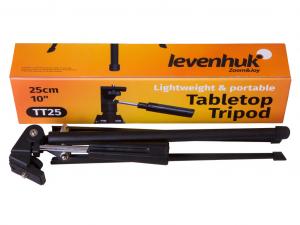 Levenhuk ТТ25 asztallapi háromlábú állvány
