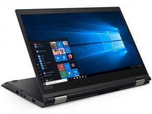 Lenovo Thinkpad X380 Yoga 20LH001LHV 13.3 FHD IPS Touch + Pen, Intel® Core™ i5 Processzor-8250U, 8GB, 256GB SSD, WWAN, Win10P, fekete notebook