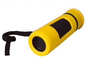 Bresser Topas 10x25 egyszemes távcső, sárga