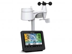 Bresser 5 az 1-ben Wi-fi-kompatibilis színes kijelzős időjárás állomás