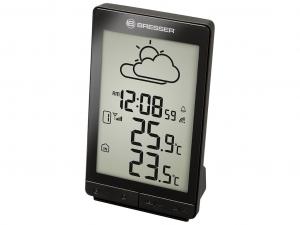 Bresser TemeoTrend STX RC időjárás állomás, fekete