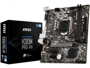MSI H310M PRO-VH alaplap - s1151, Intel® H310, mATX