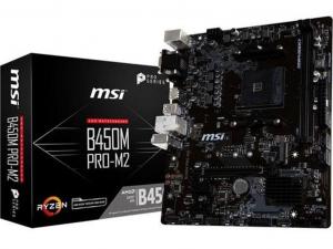 MSI B450M PRO-M2 V2 alaplap - sAM4, AMD B450, mATX