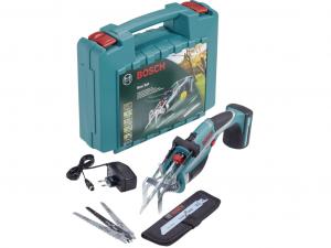 Bosch Keo Set 10.8V Akkus kerti fűrész fűrészlapokkal kofferben