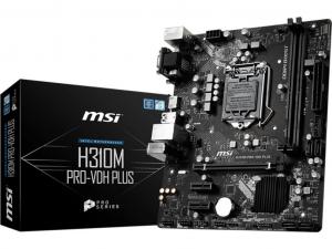 MSI B450M PRO VDH PLUS - sAM4, AMD B450, mATX