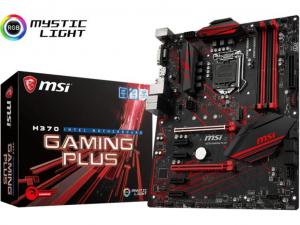 MSI H370 GAMING PLUS alaplap - s1151, Intel® H370, ATX