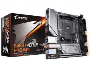 GIGABYTE B450 I AORUS PRO WIFI alaplap - sAM4, AMD B450, mITX