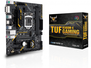 ASUS TUF B360M-E GAMING alaplap - s1151, Intel® B360M, mATX