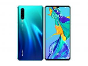 Huawei P30 128GB 6GB DualSim Auróra kék Okostelefon