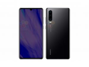 Huawei P30 128GB 6GB DualSim Éjfekete Okostelefon