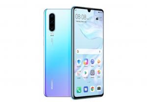 Huawei P30 128GB 6GB DualSim Jégkristály kék Okostelefon